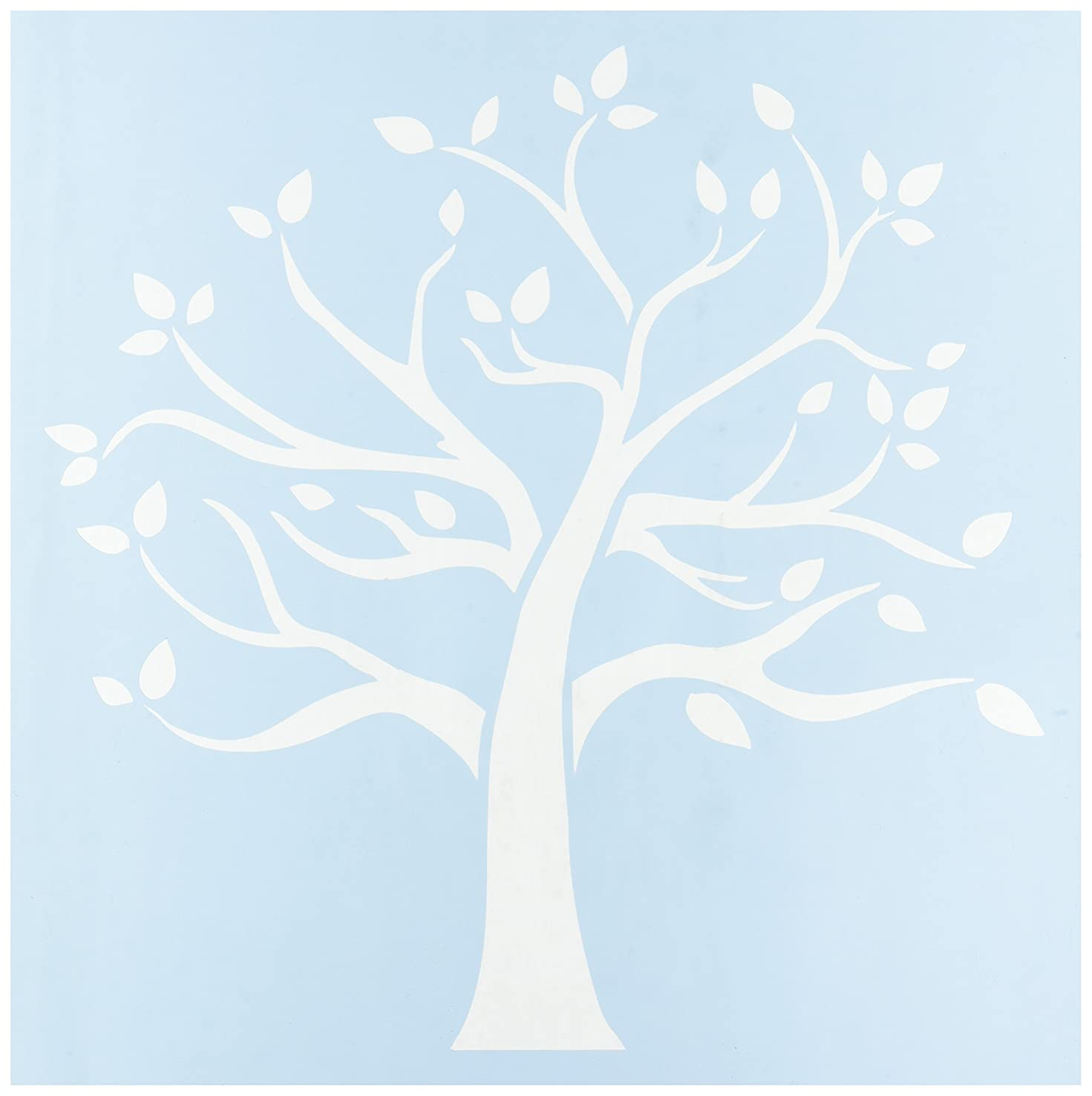 CLEARSNAP Clear Scraps CSSM12-FMTRE Family Tree Stencils, 12 by 12