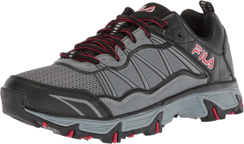 Film herrar på på på Peake 19 Trail springaning skor, Castlerock  svart röd, 8.5 Medium US  upp till 70%