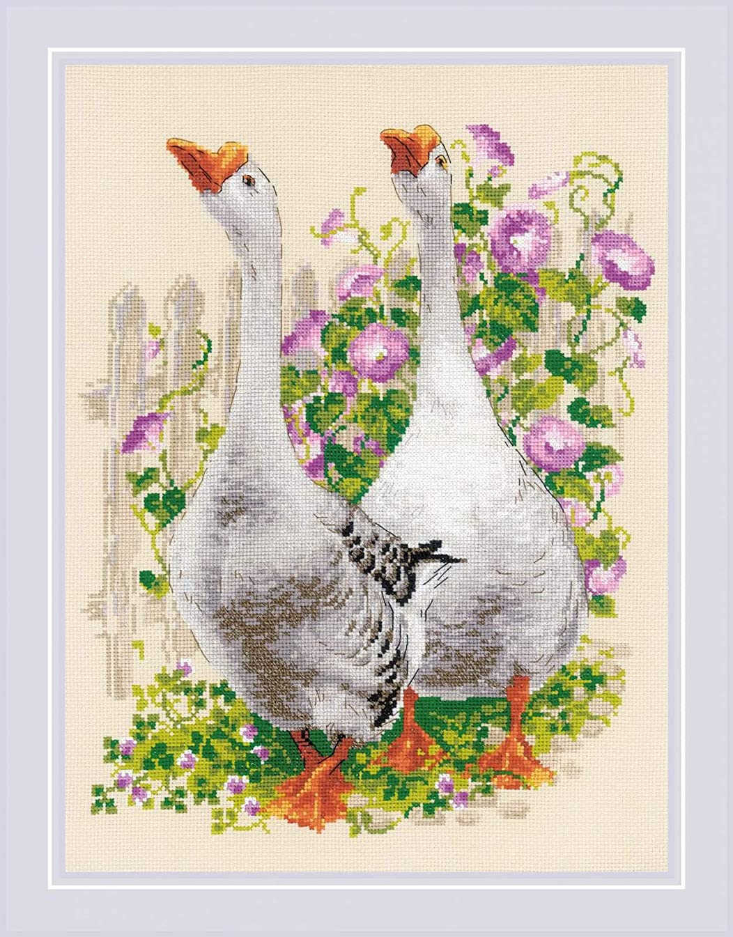 RIOLIS 1807 - Geese - Counted Cross Stitch Kit 11?