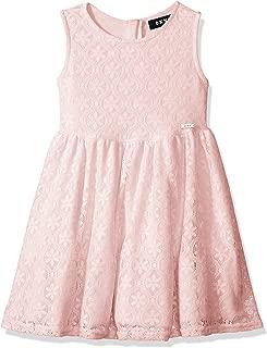 dkny pink lace dress