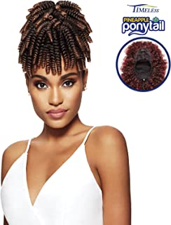 Outre Synthetic Hair Ponytail Timeless Pineapple Ponytail Curlette Small (2T1B/27)