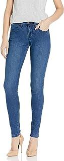Lola Jeans Womens Celina Skinny Jeans - Blue