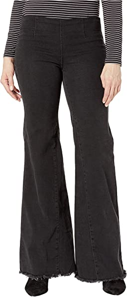 Drapey A-Line Pull-On Pants