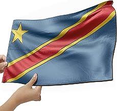 Kongo Flagge als Lampe aus Holz kreativer Dekoartikel aus Echtholz schenke deine individuelle Kongo Fahne
