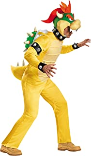 Disguise Men's Bowser Deluxe Adult Costume