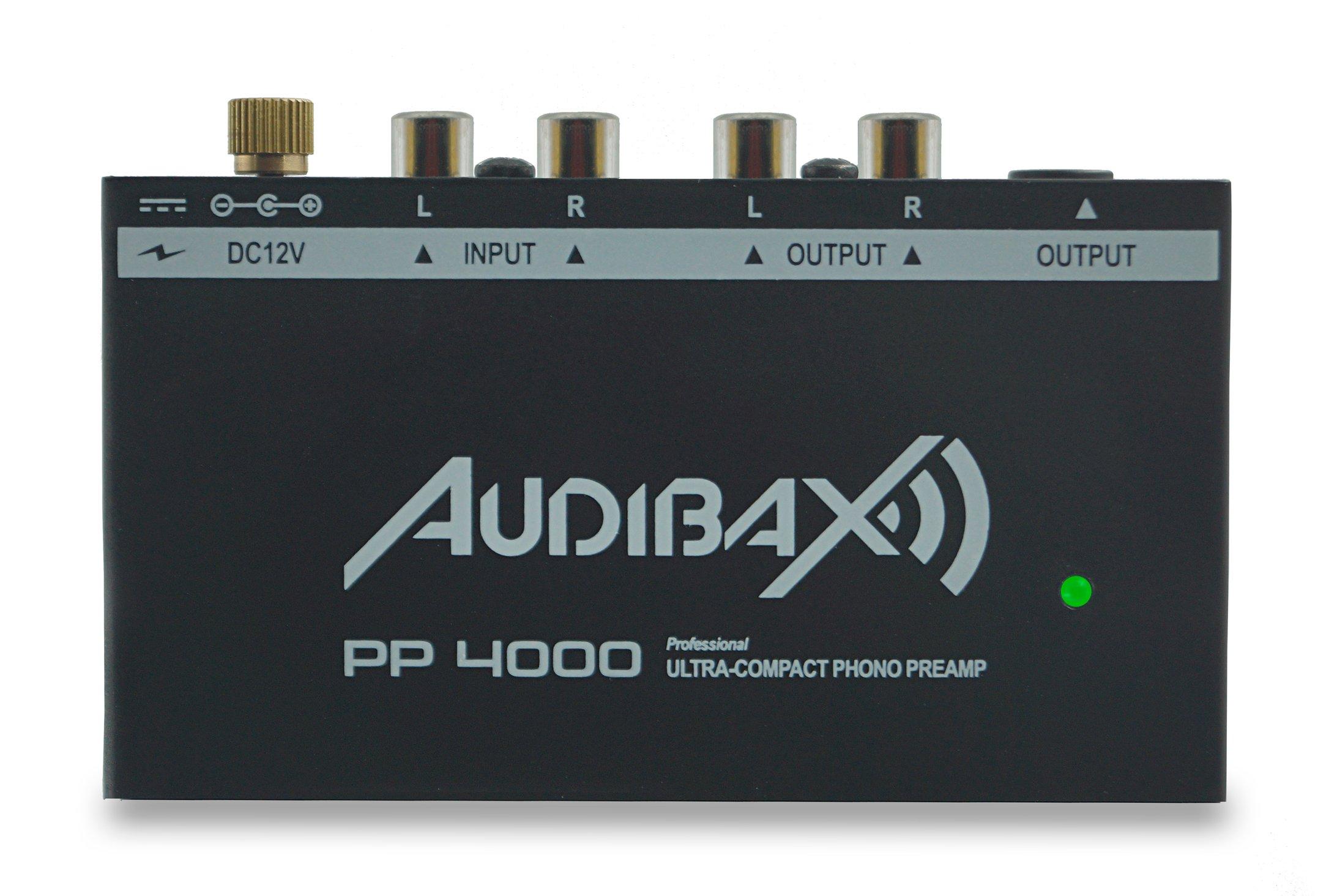 Audibax PP4000 Preamplificador Previo Phono RIAA. Único en el ...