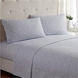 Mellanni Bed Sheet Set – Brushed Microfiber 1800 Bedding – Wrinkle, Fade,..