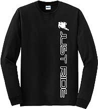 JUST RIDE Motocross Moto MX Shirt Long Sleeve Motorcycle