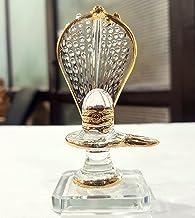 KLEO Glass Shiva Lingam Shiv Ling Idol Murti for Daily Pooja Purpose