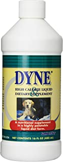 Dyne High Calorie Liquid Dietary Supplement for Dogs, 16-Ounce