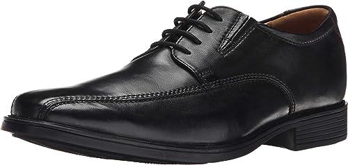 Clarks - Chaussure de Marche Tilden Homme, 49.5 EUR, noir Leather