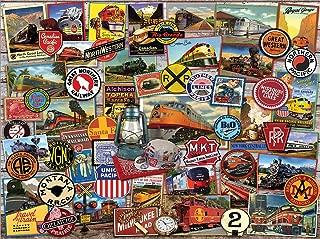 White Mountain Puzzles All Aboard-1000 Piece Puzzle - Designer: Lewis T. Johnson