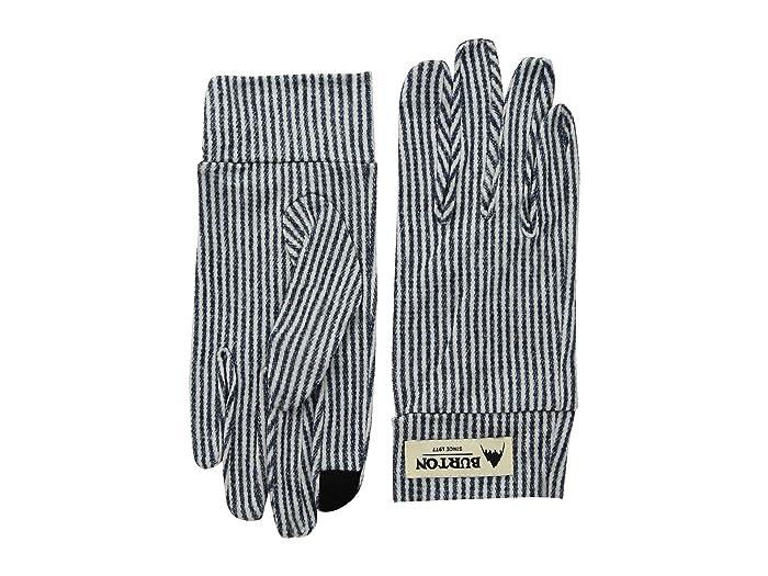 Burton Merino Wool Liner Gloves (Open Road Stripe) Liner Gloves