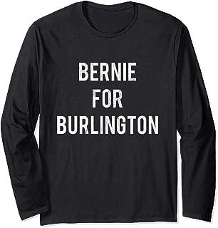 Bernie Sanders for Burlington Mayor Retro Campaign Long Sleeve T-Shirt