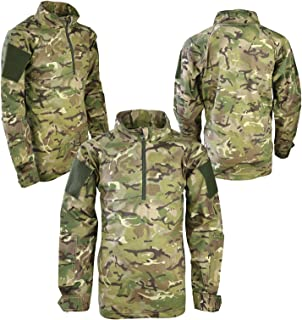 Kids BTP/Multicam UBACS Under Armour Shirt Childrens Army Military Clothing