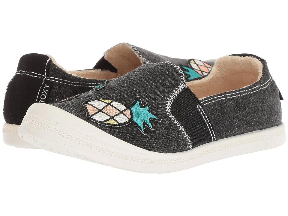 Roxy Kids Palisades (Little Kid/Big Kid) (Black) Girls Shoes