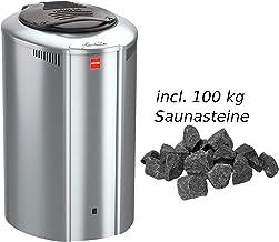 Harvia Forte–Horno 4,0kW elektroofen af4Sauna Calefacción Estufa para Sauna, Color Acero