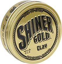 Shiner Gold Maximum Matte Clay Pomade, 4oz.