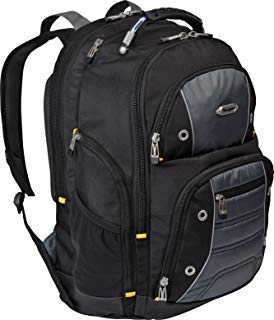 Targus Drifter II for Professional Business Commuter Backpack for 16-Inch Laptop, Black/Gray (TSB238US)