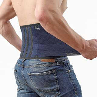 Back Support Lower Back Brace ? provides Back Pain Relief ? AVESTON Lumbar Support keeps your Spine Straight and Safe - Me...