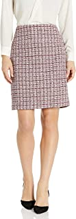 Tahari ASL Women's A-line Tweed Skirt