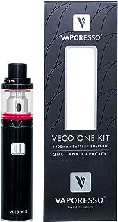 電子タバコ 爆煙 「正規品」【Vaporesso/ベポレッソ】 VECO ONE Starter kit (ブラック) ベコ ワン スターター キット おまけ付き 本体 アトマイザー セット スターター キット vepe mod