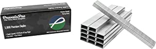 Praxxis Pro Standard Staples (500,000 Count, Silver)