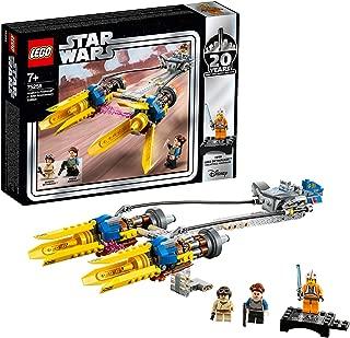 LEGO Star Wars: The Phantom Menace Anakin's Podracer – 20th Anniversary Edition 75258 Building Kit