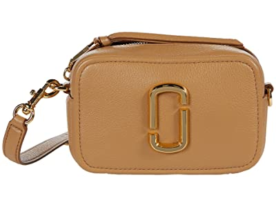 Marc Jacobs The Softshot 17 Crossbody (Dirty Chai) Cross Body Handbags