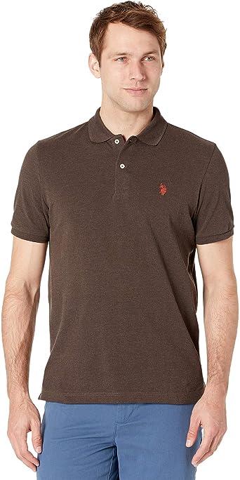 U.S. Polo Assn. Men's Classic Polo Shirt : Color - Tahoe Blue Heather, Size - Large (B00CIFRSP0)