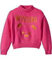 Sweater w/ Embroidered Toy Bear (Little Kids/Big Kids)