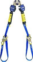 "3M DBI-SALA Nano-Lok 3101374 Tie Back Self Retracting Lifeline, 9', 3/4"" Dynema Polyester Web, Tie-Back Hook, Quick Connector For Harness Mounting, Blue"
