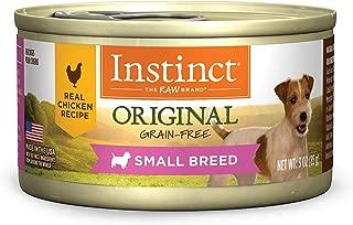 instinct can dog food