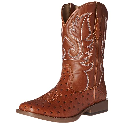 1959a23f1c7 Roper Men s Basic Square Toe Western Boot