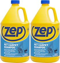 Zep Premium Pet Carpet Shampoo 128 ounce (Pack of 2) concentrated pro formula eliminates tough pet stains & odors