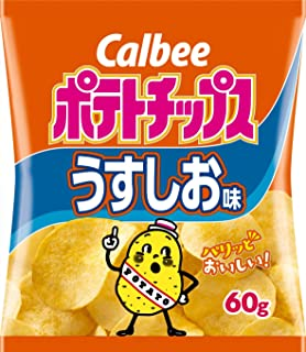 Calbee Potato Chips Usushi Oasi 60g ~ 12 pieces