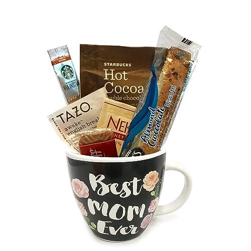 Starbucks Coffee Mug Gift Sets WITH Via Hot Cocoa Tea And MORE