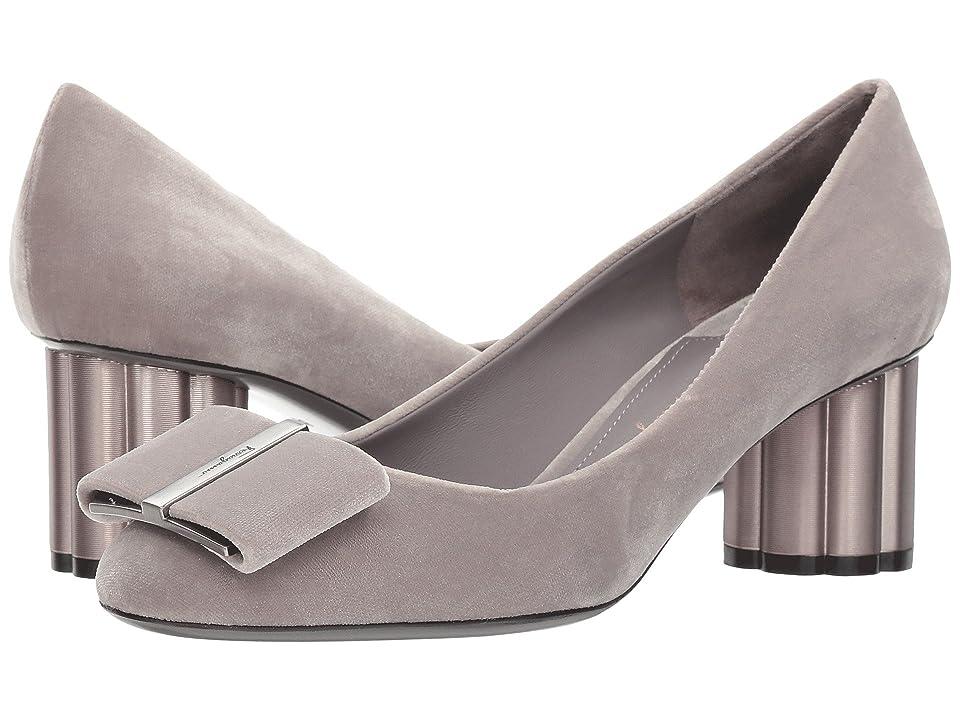 Salvatore Ferragamo Capua55T (Urban Grey/Pale Grey) High Heels