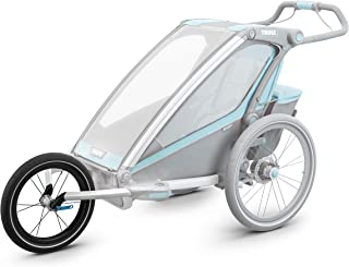 Thule 0872299043002 Chariot Jogging Kit 1 per rimorchio per bambini a 1 posto, argento