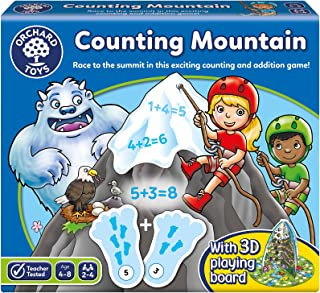 Orchard Toys Counting Mountain Board Game, Multicolor