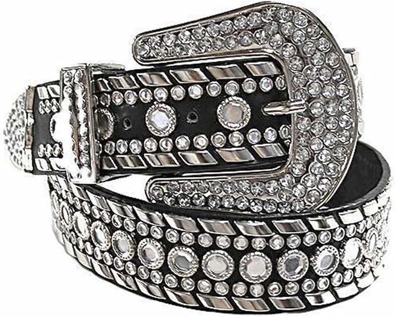 Luxury Divas Rhinestone Studded Western Atlanta Mall Women For Cheap bargain Belt