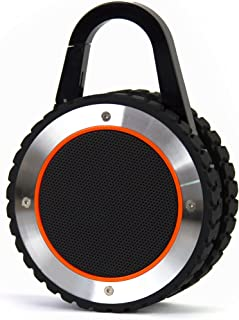 ALL-Terrain Sound Rugged Bluetooth Speaker, Rugged Outdoor Wireless Waterproof Bluetooth Speaker – Black
