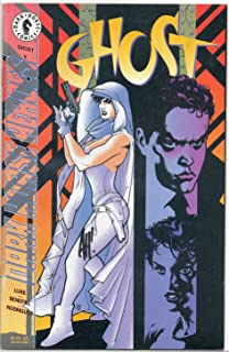 Ghost #6 Autographed By Adam Hughes