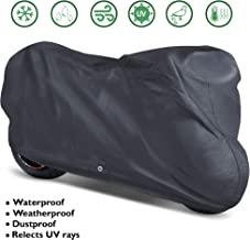 OxGord Signature Motorcycle Cover - 100% Water-Proof 5 Layers - Ready-Fit/Semi Custom - Fits up to 111 Inches