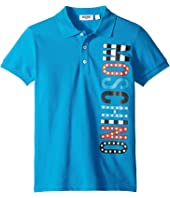 Moschino Kids - Logo Polo Shirt (Little Kids/Big Kids)