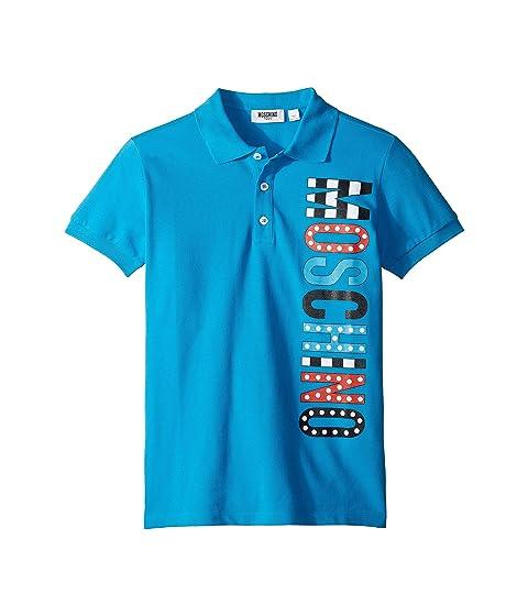 Moschino Kids Logo Polo Shirt (Little Kids/Big Kids)