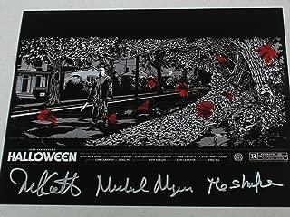 Nick Castle Signed Halloween 10x13 Photo Michael Myers The Shape Autograph RARE