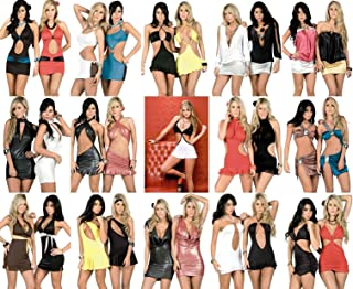 Lot New Clubwear Ultra Mini Dress Top Party Dance Exotic Sexy Rave S M L XL