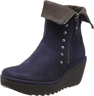 Chocolate Para esZapato Zapatos Amazon Mujer Tacon mNnwv8O0