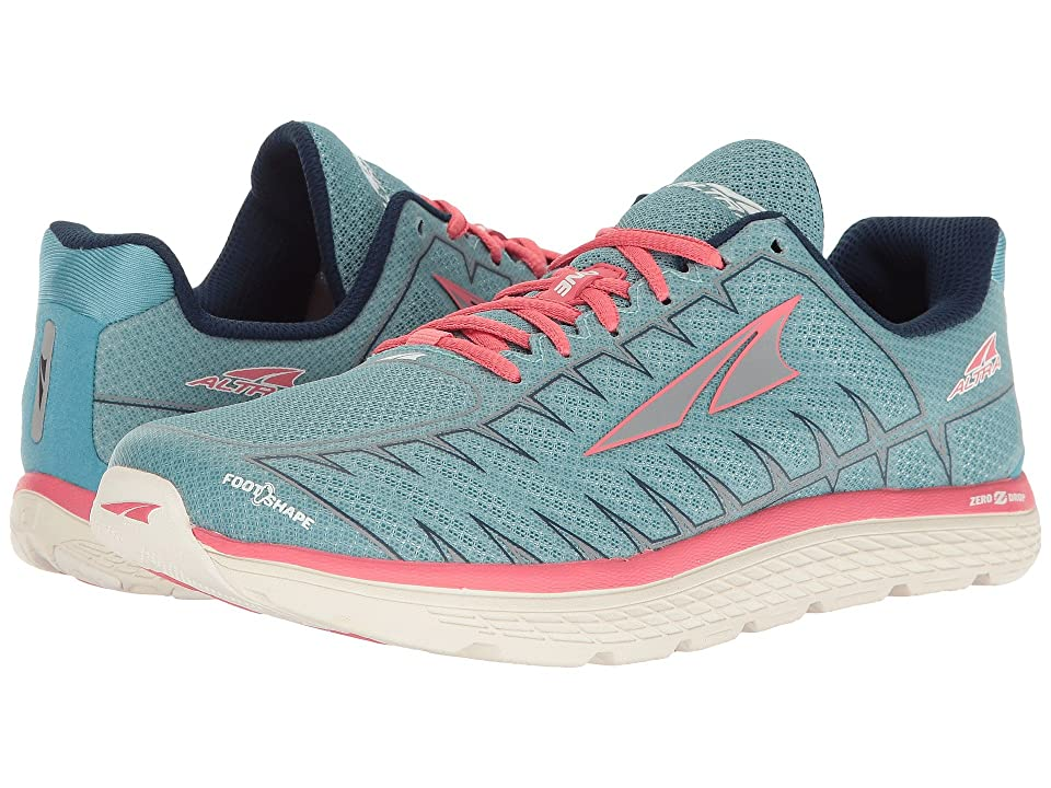 Altra Footwear One V3 (Light Blue/Coral) Women